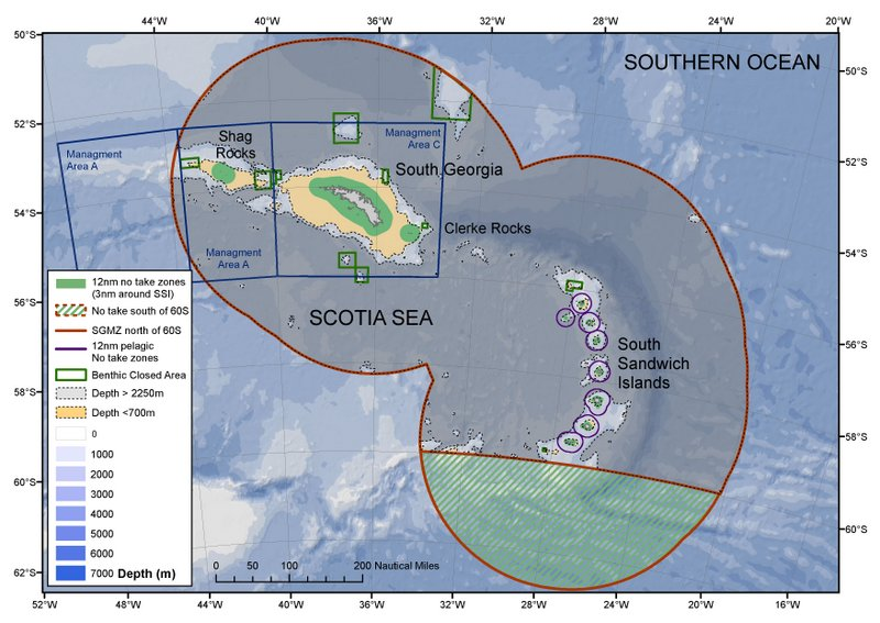 Final call for evidence to inform the 5-year review of the #SouthGeorgia and South Sandwich Islands #MarineProtectedArea.  See more about the process and the Government's current management here:  http://www. gov.gs/environment/ma rine-protected-area/ &nbsp; …  <br>http://pic.twitter.com/lA1DC1Okvs