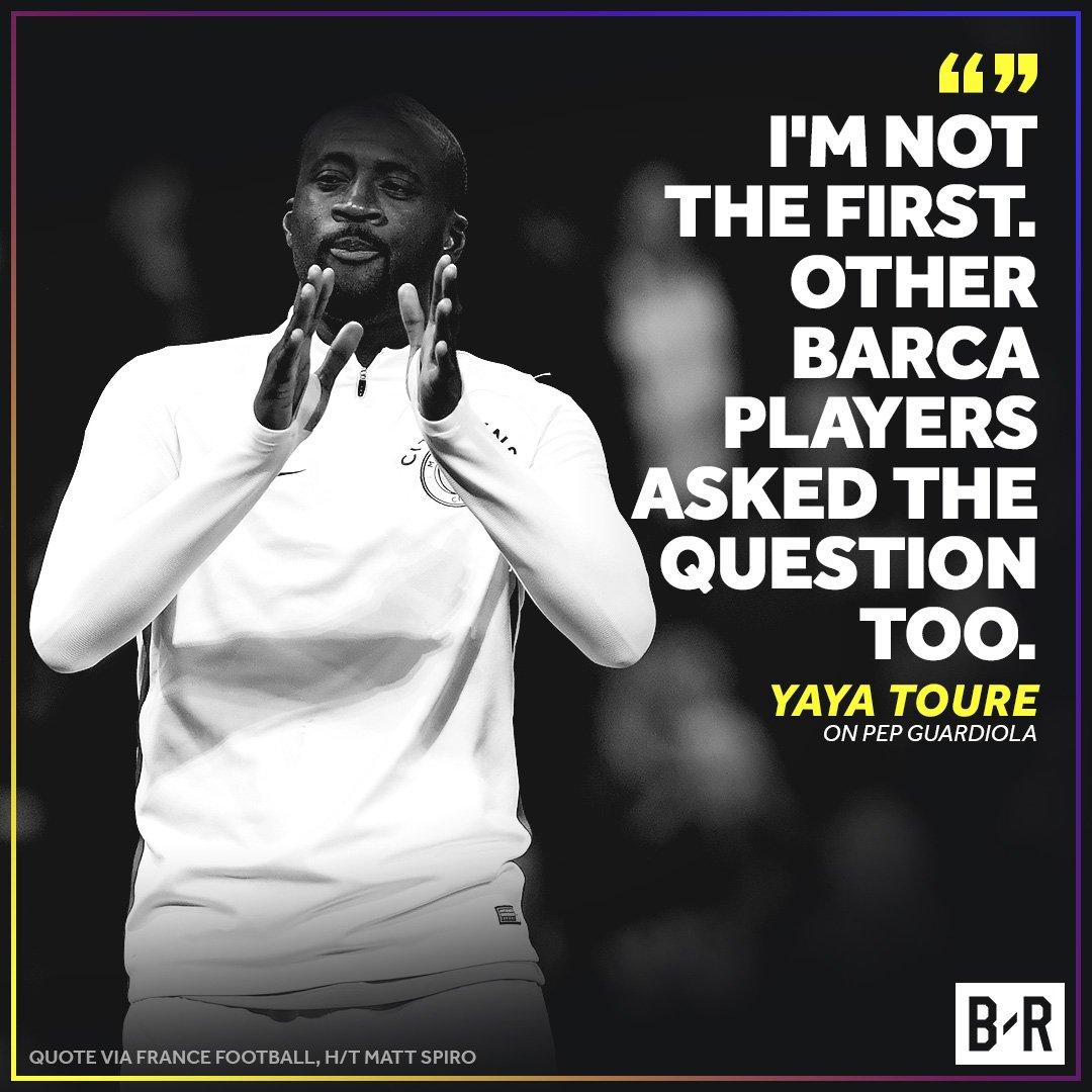 Yaya Toure Goes After Guardiola | Bleacher Report | Latest