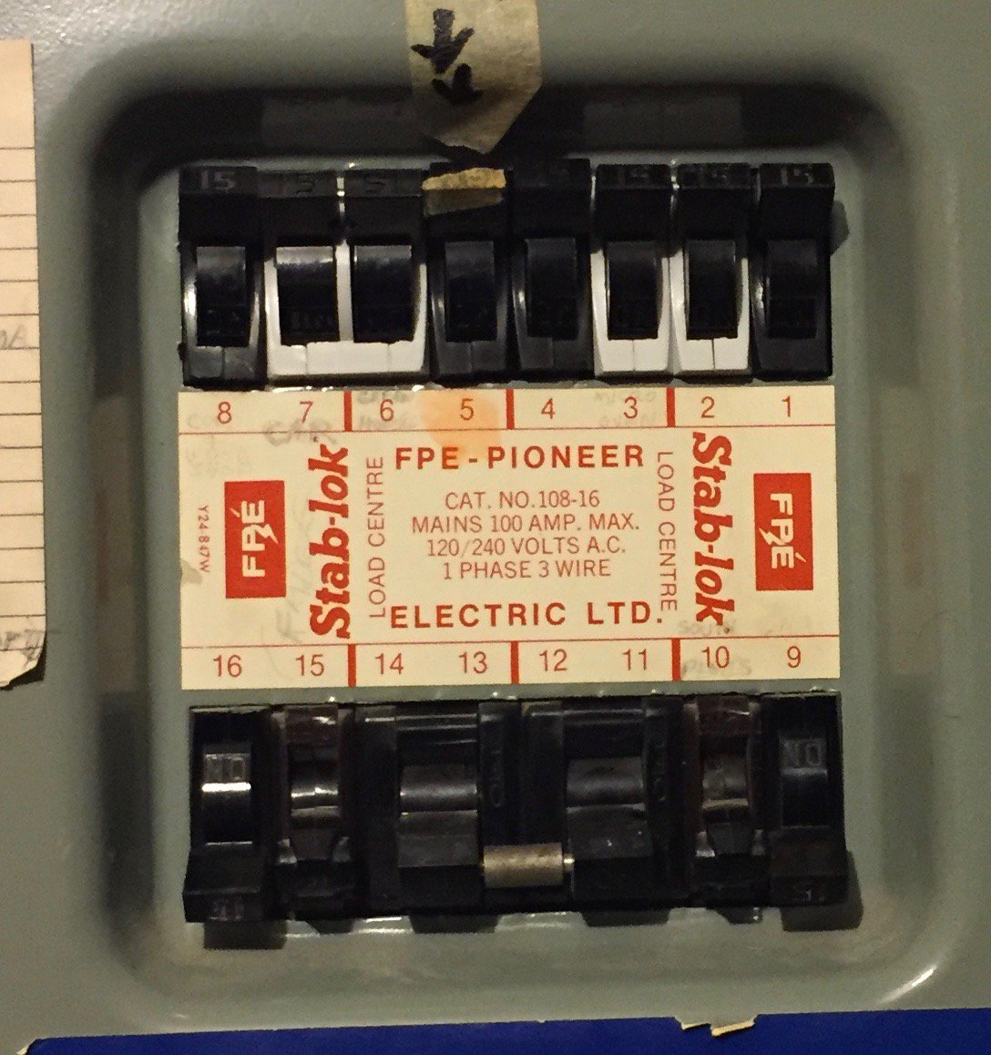 Robart Electrical Robartelectric Twitter Residential Wiring Amps All Service Panels Have Been Rated For 100 Since The 1940spic 4ktgmskdds