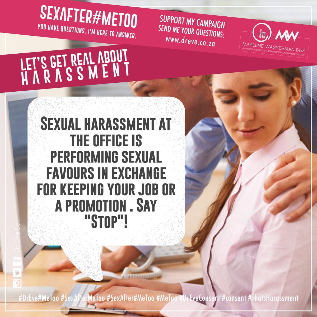 How to ease sexual tension at work