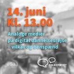 Image for the Tweet beginning: Tag hul på årets Folkemøde