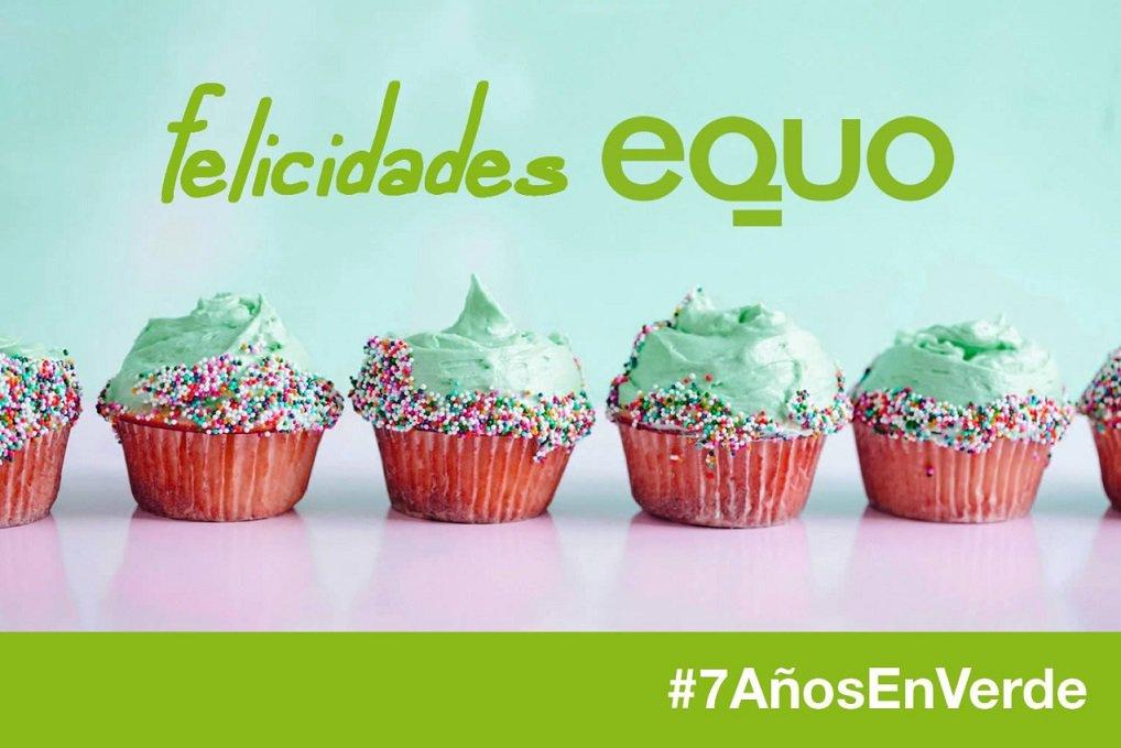 🌻 @Equo cumple hoy #7añosenVerde. Muchas felicidades. Y muchas gracias.
