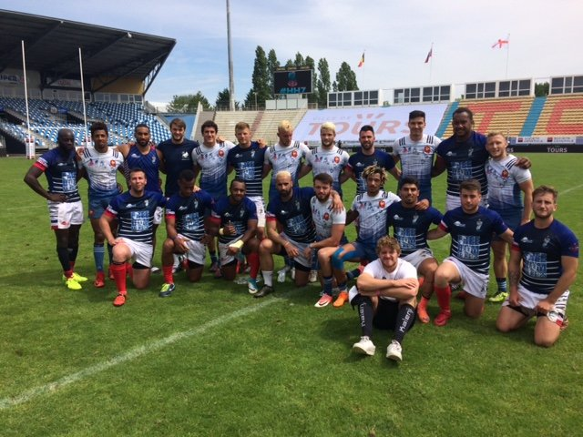 test Twitter Media - Congratulations to the french team, Les Bleus on another great win this weekend at the 2nd leg of the Elite Sevens Series in Tours! 2 more legs to go, can they do it? We think so! 👏 🎉 #SamuraiFamily https://t.co/Ip3npDELUb