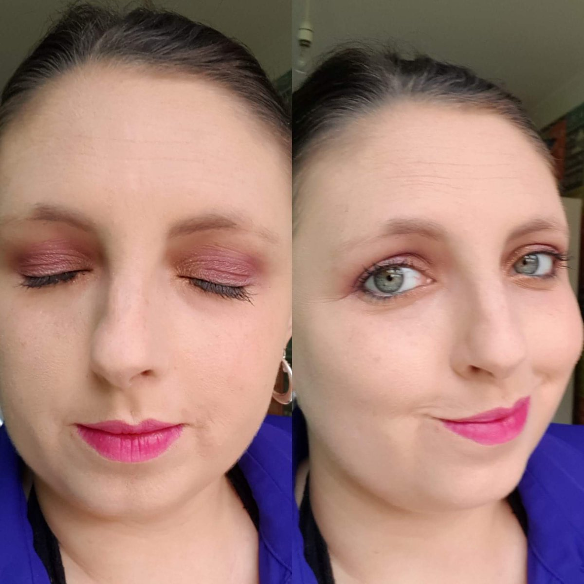 So I'm taking part in a make up skills thing in my team all for fun. Today's task is Disney theme. I kept it simple and went with Aurora from Sleeping Beauty!!  Need a bit more practice with my blending technic but overall.  #summerslay2018 #summerslay2018day1