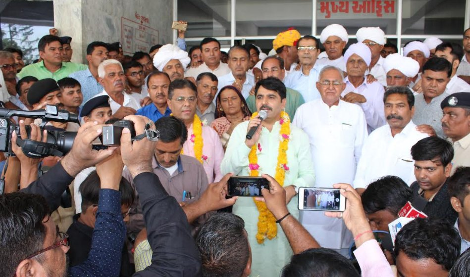 Shankar Chaudhary reelected unopposed as Banas Dairy's Chairman for second term