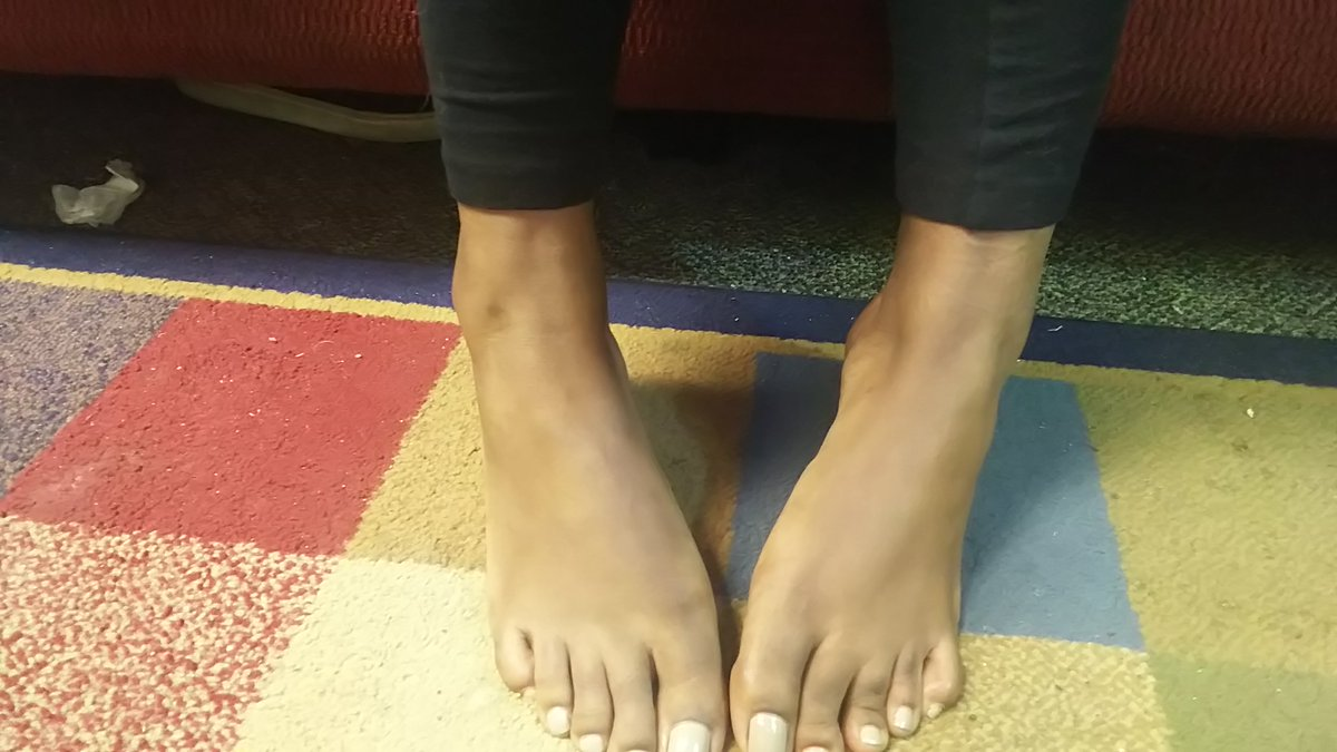 Ebony foot fetish
