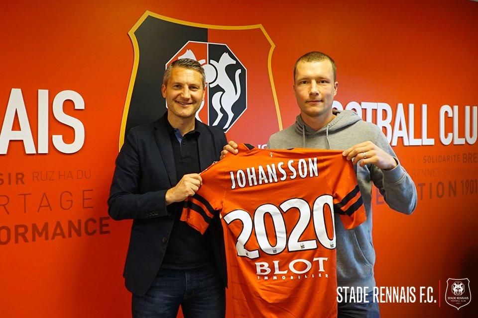 Jakob Johansson signe pour deux ans à Rennes — Officiel