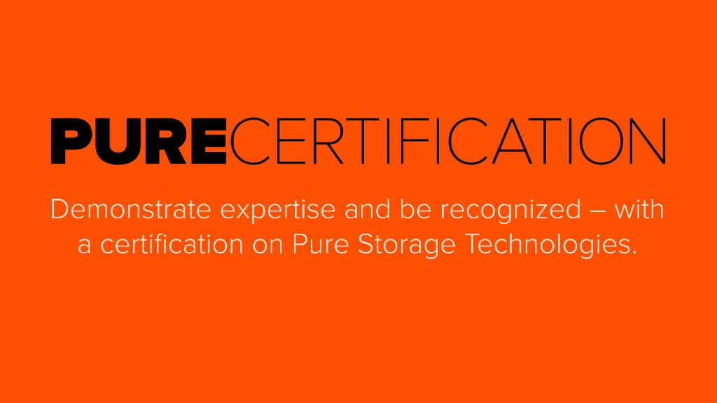 Purepartners On Twitter Pure Storage Certification Offers Partners