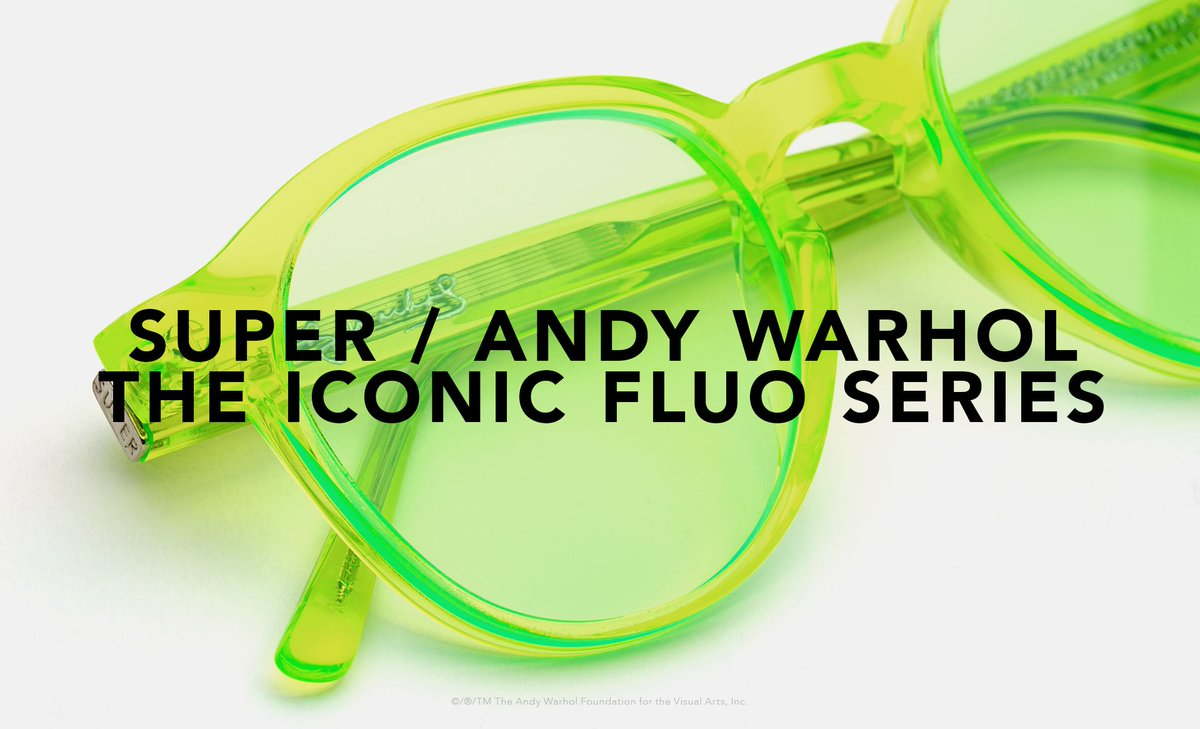 a42c2d12b87f9b ... new fluo series for the start of the Summer  Aciiiiiiiiid! Available in  stores and at http   retrosuperfuture.com © ® TM The Andy Warhol Foundation  for ...