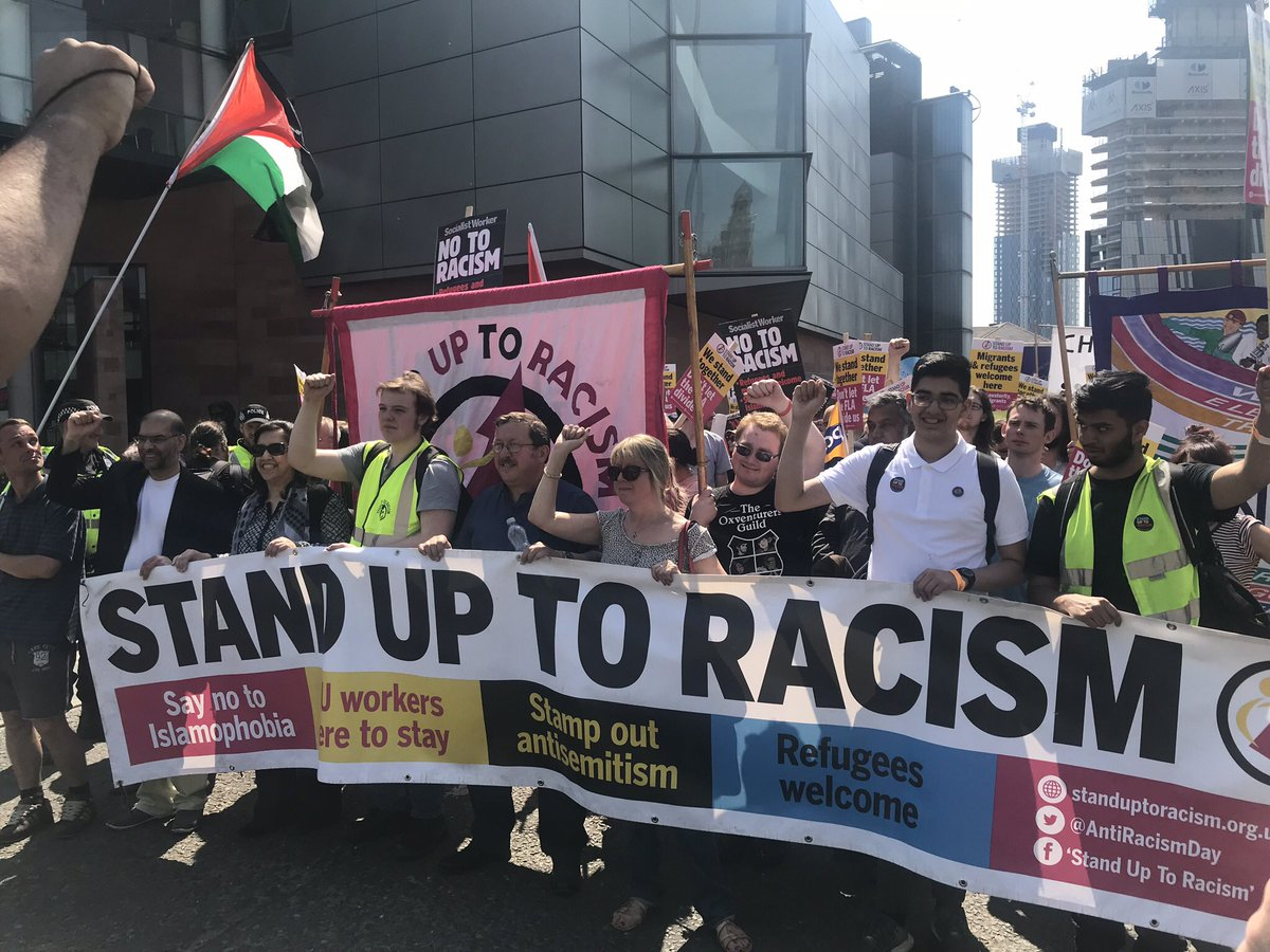 Oppose the #racists and #fascists who plan to march in support of ex EDL leader Tommy Robinson this Saturday 9 June in #London standuptoracism.org.uk/oppose-the-rac… no to #racism #Islamophobia and #Antisemitism