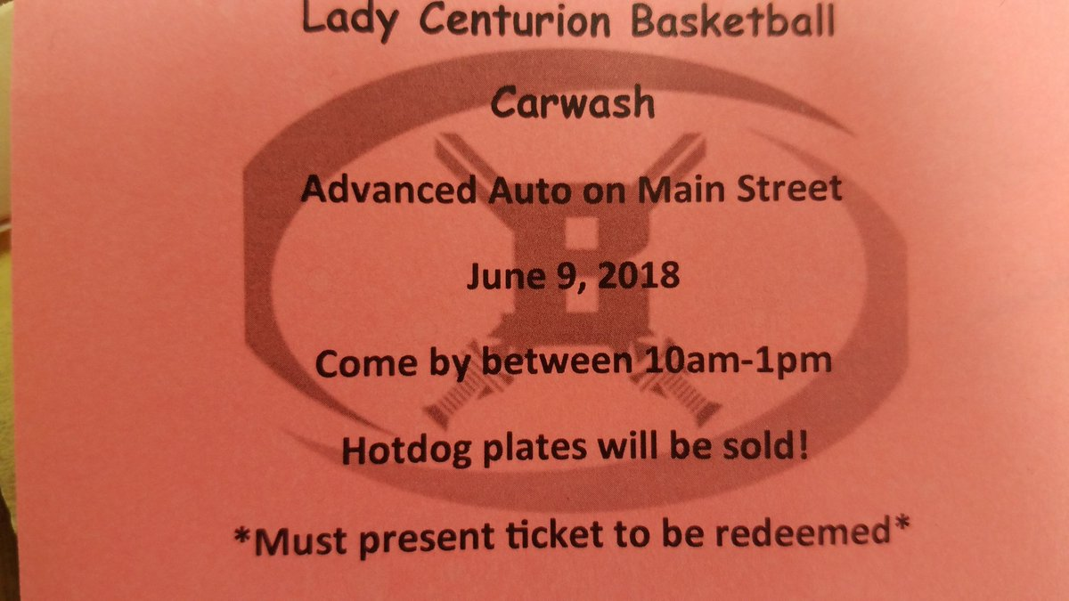 East Main Auto >> Lady Centurion Bball On Twitter It S Car Wash Time Come