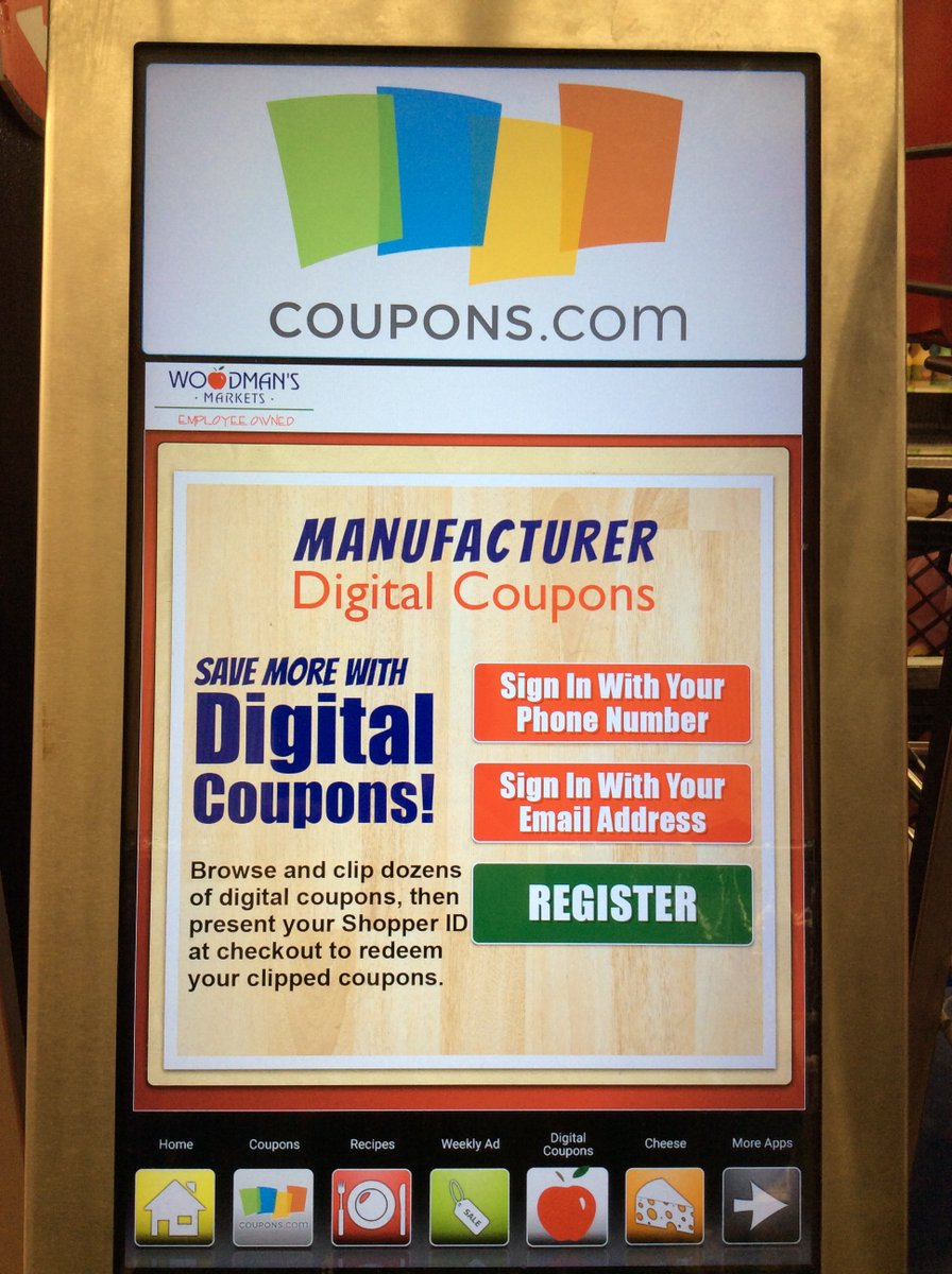 Woodmans Food Market On Twitter Access Digital Manufacturer Coupons Directly From Our In Store Kiosks