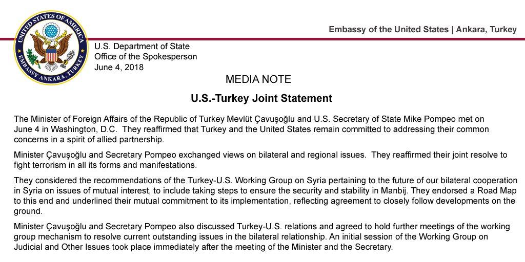 US Embassy Turkey on Twitter: \
