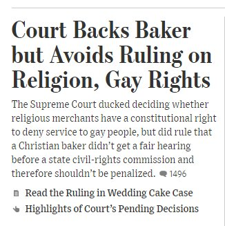 The award for clearest  most accurate front-page headline and summary of today's big SCOTUS ruling... goes to the Wall Street Journal: