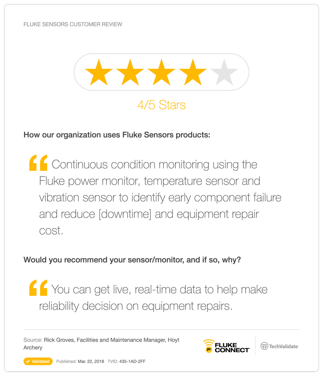 Accelix On Twitter Find Out What Flukecorp Customers Think Of Our Remote Power Manager Maintenance Reliability Assetmanagement Vibration Vibrationmonitoring Thermal Thermalimaging Powermonitoring Data Tech Technology