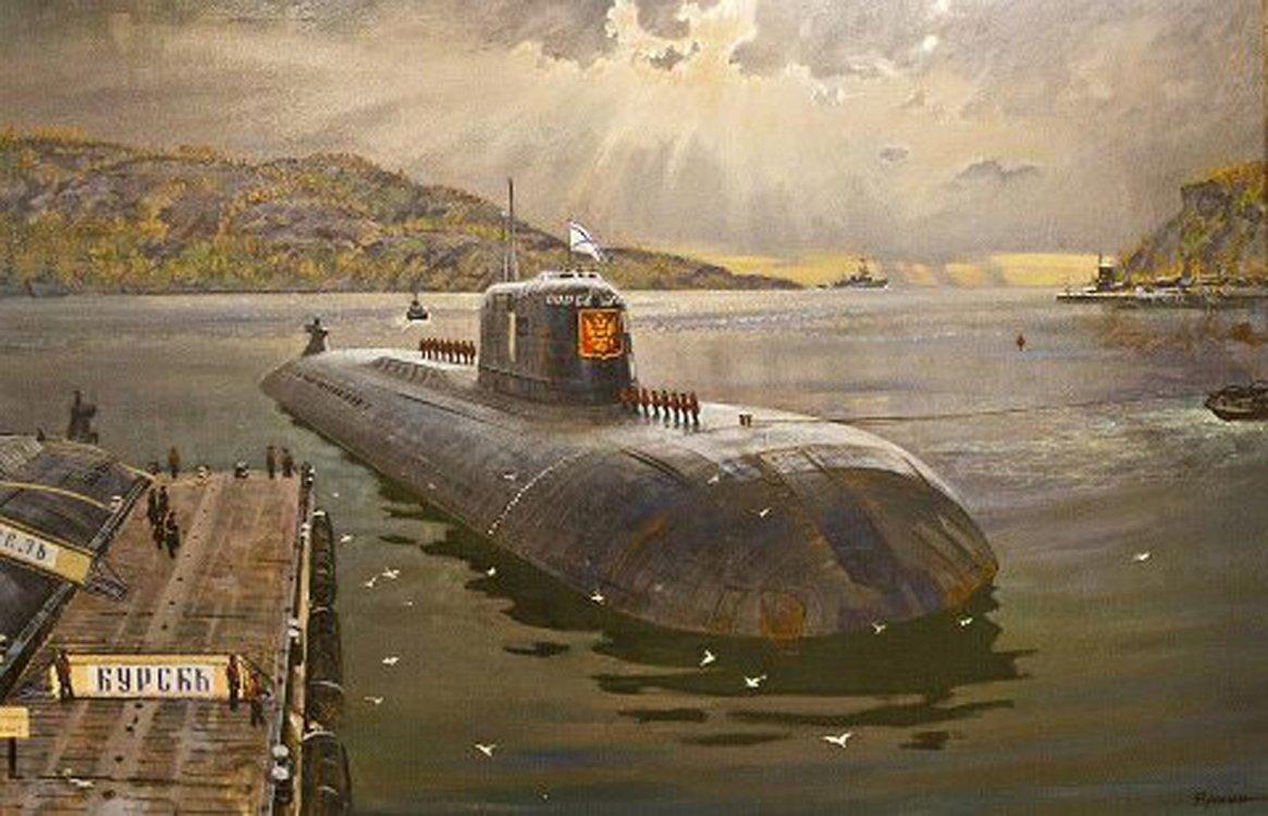 Картинки подводная лодка курск