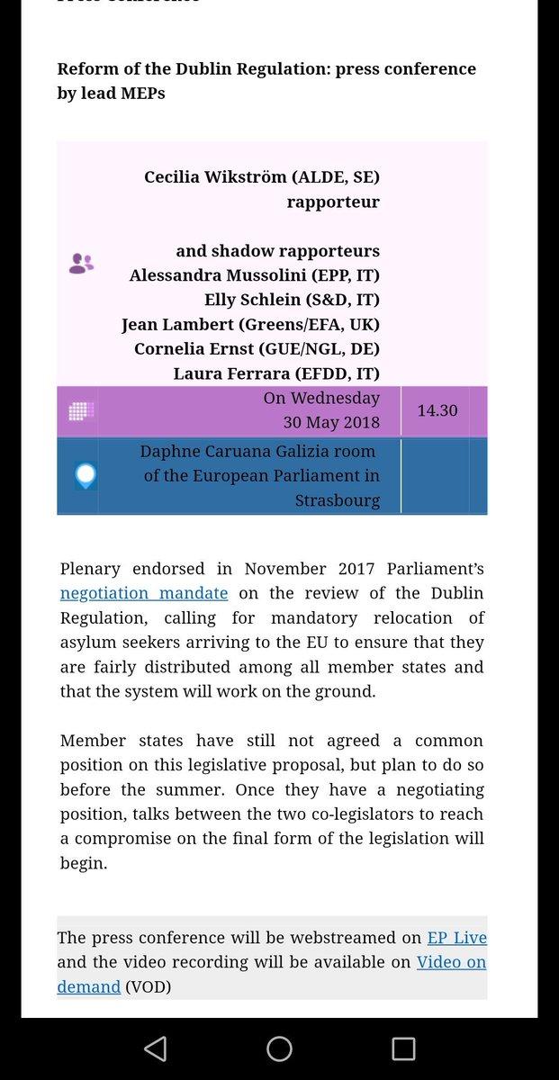 Was zu kurz kommt: 180 Parteien, organisiert in 6 EP-Fraktionen, stehen hinter einem neuen Dublin-System, schlüsselfertig & mehrheitlich im November (!) angenommen. Seither blockieren 28 Innenministerien die Verhandlungen. #hartaberfair #AnneWill #Presseclub et al: übernehmen Sie