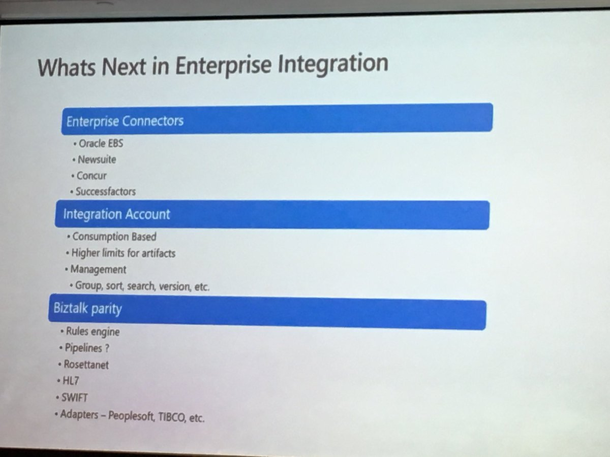 Integrate 2018 - Day 01