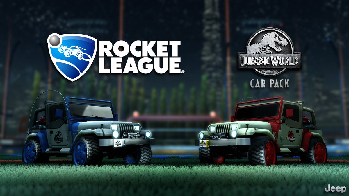 The Jurassic World Car Pack DLC is now LIVE on all platforms! Learn more about our latest Premium DLC at bit.ly/RLandJW