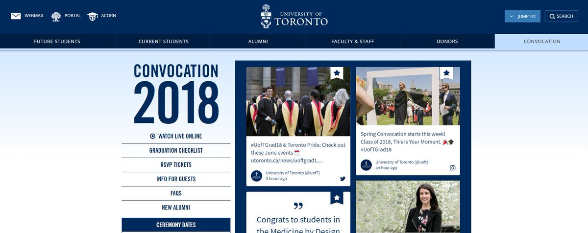 University Of Toronto On Twitter For All Things Uoftgrad18 Visit Https T Co 5qz2dv1mah For Uoft Graduation Faqs Livestreams Schedules More Https T Co 7aoe9kyerm
