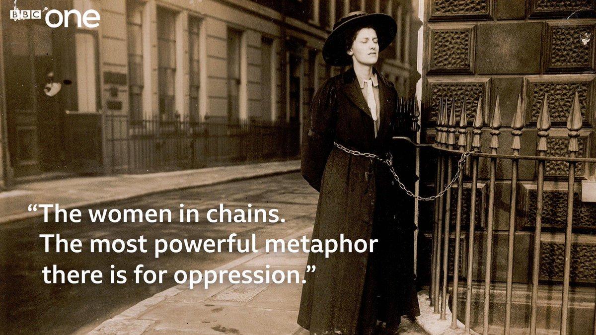 Suffragettes, le docu-drama de la BBC avec Lucy Worsley De3MwkNXUAE0ORz