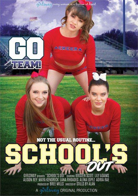 Girlsway presents School's Out w/ @LanaRhoades @AlisonReyxxx @mayakendrickx @AdriaRaeXXX @ItsAlinaLopez
