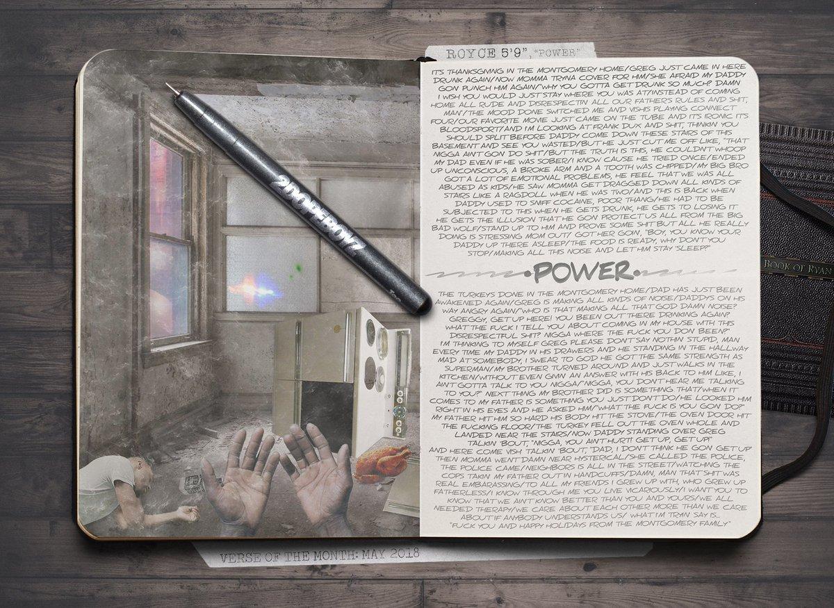 Verse of the Month: @Royceda59, 'POWER' 2dope.bz/2JeQ6Wy
