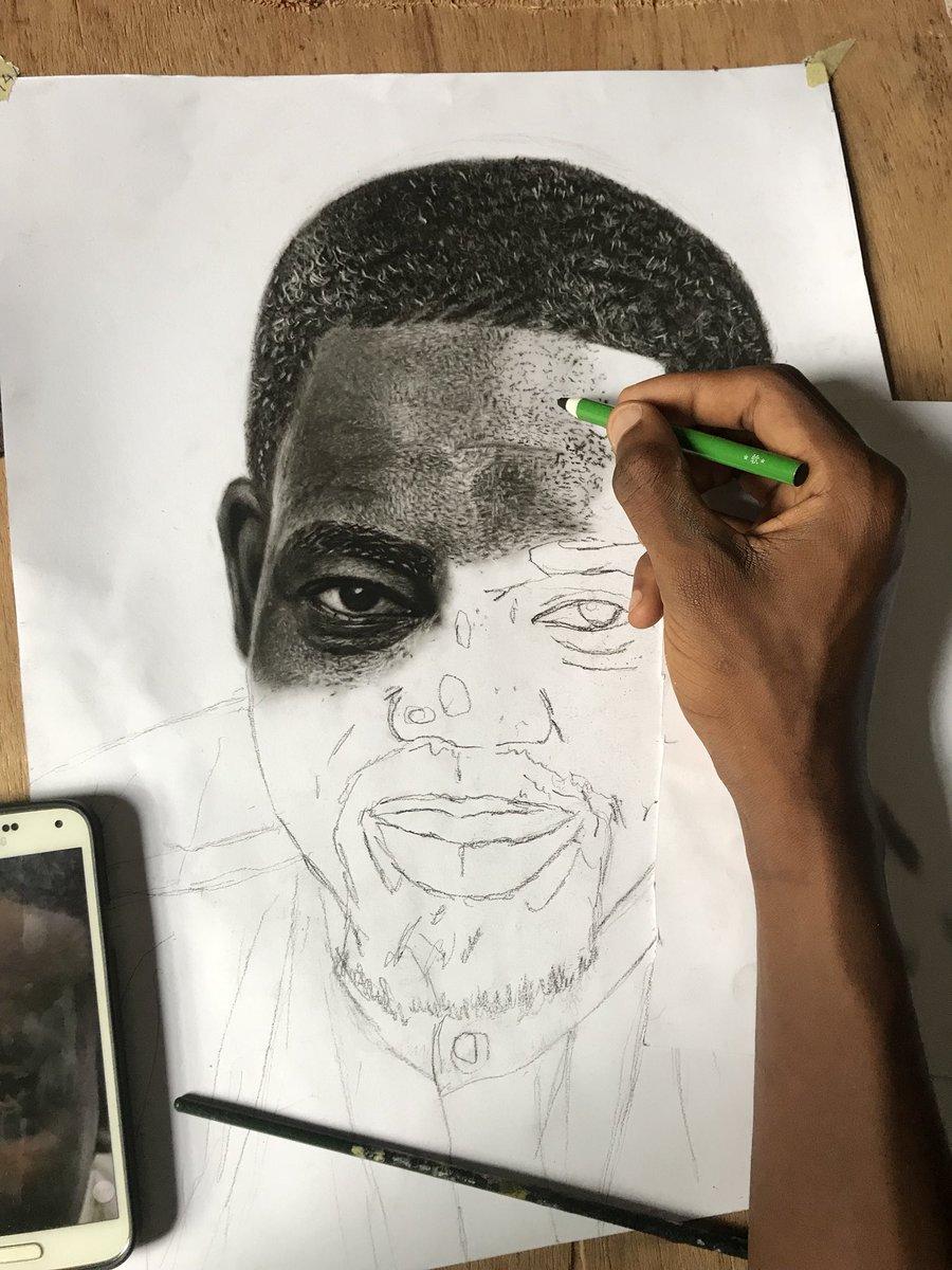 Kobby kyei etchyfingers hitz1039fm y1025fm whattheffacts amgmedikal djsliming amgmedikal 14kay0 sark daily sarkodie teamsarkodie amazing pencil drawing