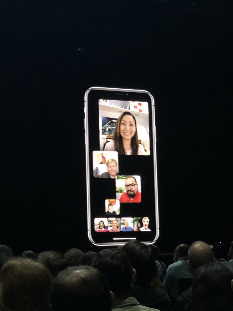 FaceTime adds group support up to 32 people! Live coverage: https://t.co/ORc8D9a4lB