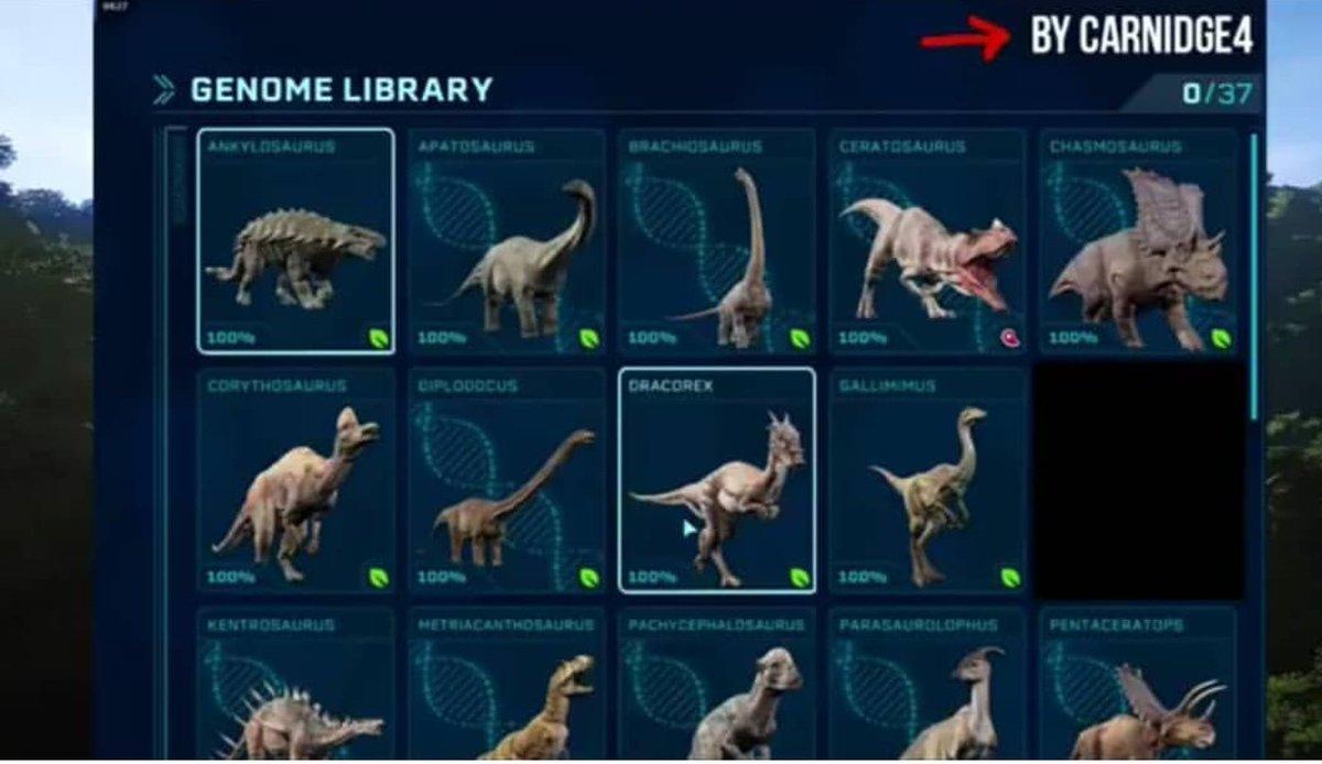 Jurassic World Evolution Jurassicworldev Twitter Este apacible herbívoro es el. jurassic world evolution