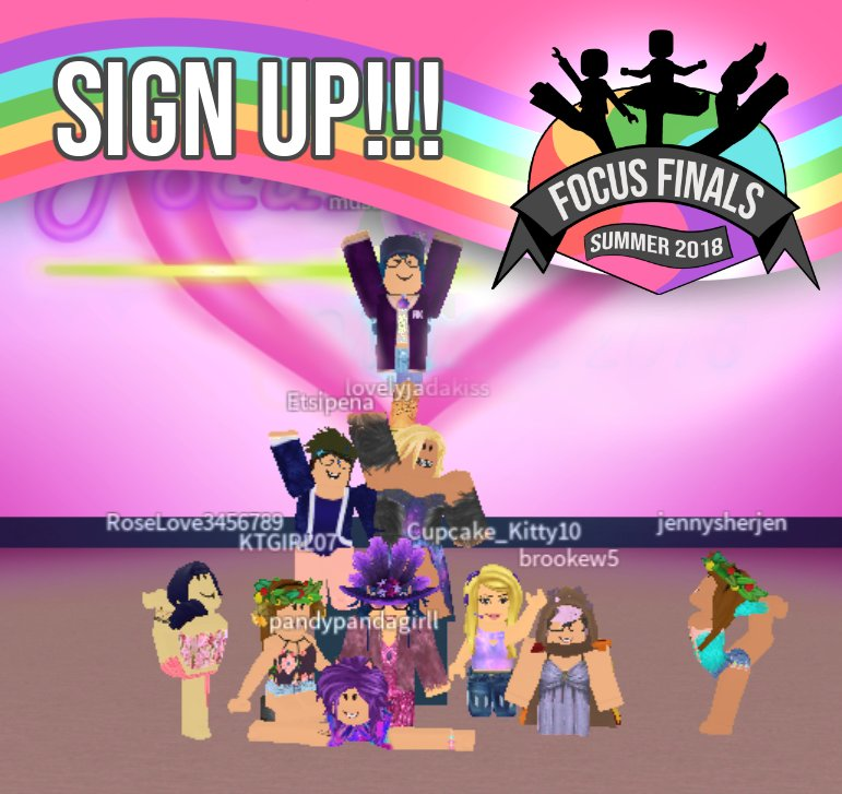 Figurine Roblox Fete Mimi Dev On Twitter Focus Finals Sign Ups Are Officially Released Https T Co Btpenszgaq