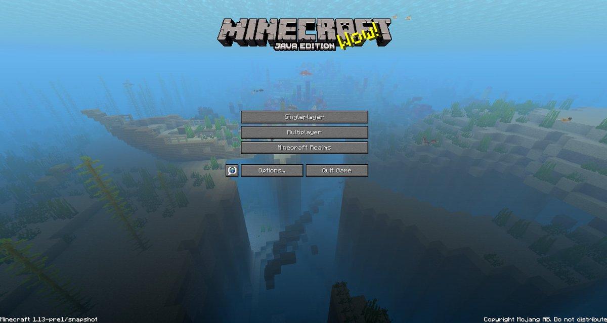 minecraft java edition 1 13