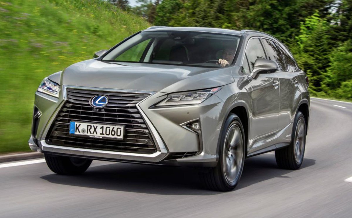 Auto Express On Twitter The Lexus Rx L Is Here With A Couple Of