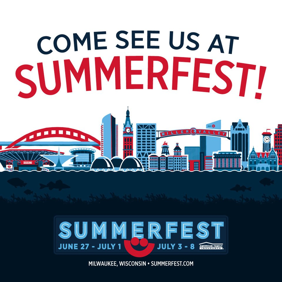Excited to make our way back to Milwaukee for @Summerfest on July 4th! Grab your tickets if you haven't yet at https://t.co/se8Nl8s0cU https://t.co/hayMQa0XEj