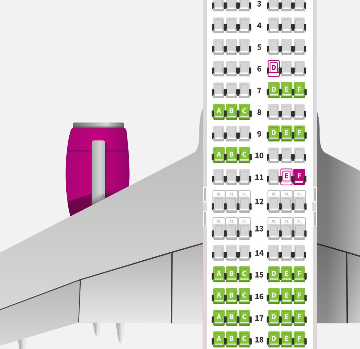 Bram Vanderborght On Twitter I Will Count On A Kind Customer To Switch Seats The Wizzair Seat Allocation Is Clearly Family Unfriendly Going Against Safety Advices And Again A Sad Example Of