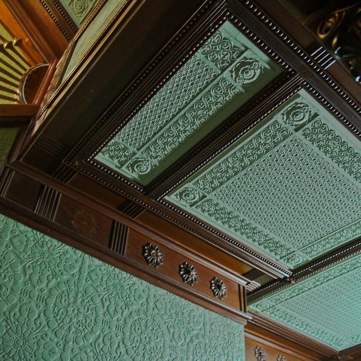 Winchester House On Twitter Lincrusta Wallpaper Is
