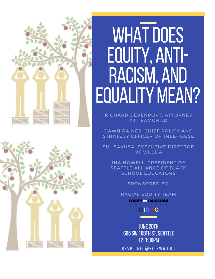 racism does not mean equal essay The problem is that white people see racism as conscious hate, when racism is bigger than that racism is a complex system of social and political levers and pulleys set up generations ago to continue working on the behalf of whites at other people's expense, whether whites know/like it or not.