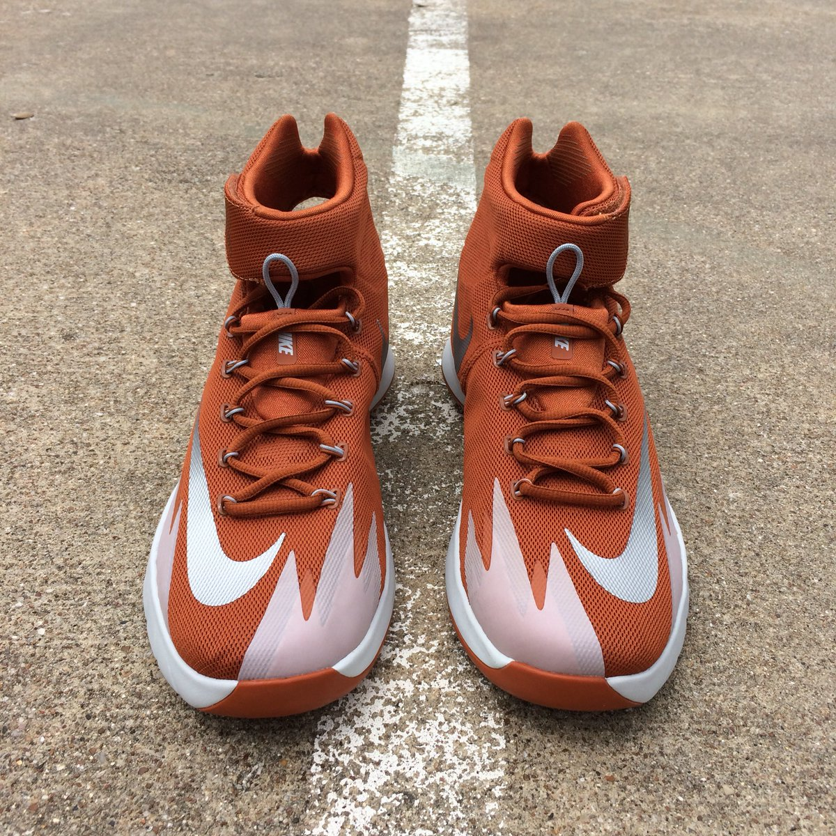 buy online de975 2af0b Nike Zoom HyperRev Team in burnt orange. Worn by  TexasMBB for the second  half of the 2013-2014 season and post season.