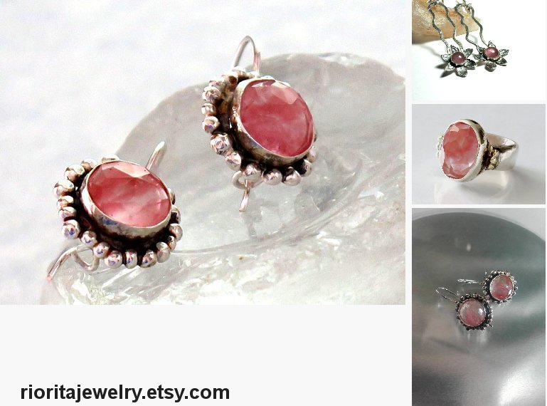 Cherry Quartz Earrings, Silver Pink Drops, Round #jewelry #earrings @EtsyMktgTool https://etsy.me/2Lm5ykr  #cherryquartz #pinkquartzearrings pic.twitter.com/PXPRjpPPh1