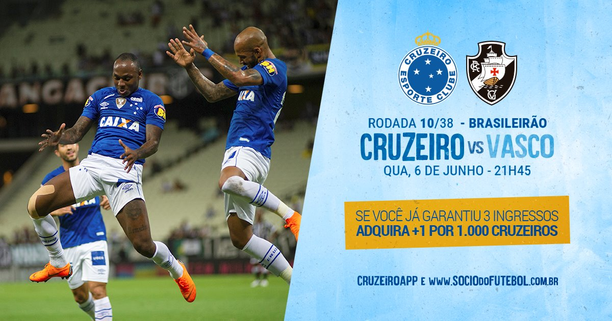 c80bc3f15a9d5 Cruzeiro Esporte Clube on Twitter