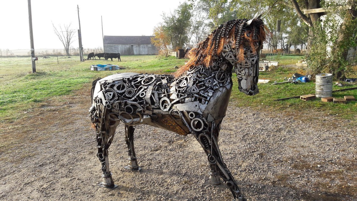 Keith Booth On Twitter Another Of My Scrap Metal Horses Scrap Metal Horse Horses Upcycledhour Upcycledpassion2018 Recyclage Junk Keithbooth Artbykeith Equine Lexingtonpark Lexington Horseracing Forsale Artsed Bestoftheday