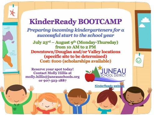 Juneau Schools On Twitter Get Ready For Kindergarten Kinderready