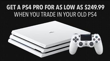 Eb Games Canada On Twitter Get A Ps4 Pro For As Low As 249 99 When You Trade In Your Old Ps4 Offer Starts June 8 And Runs Until June 18
