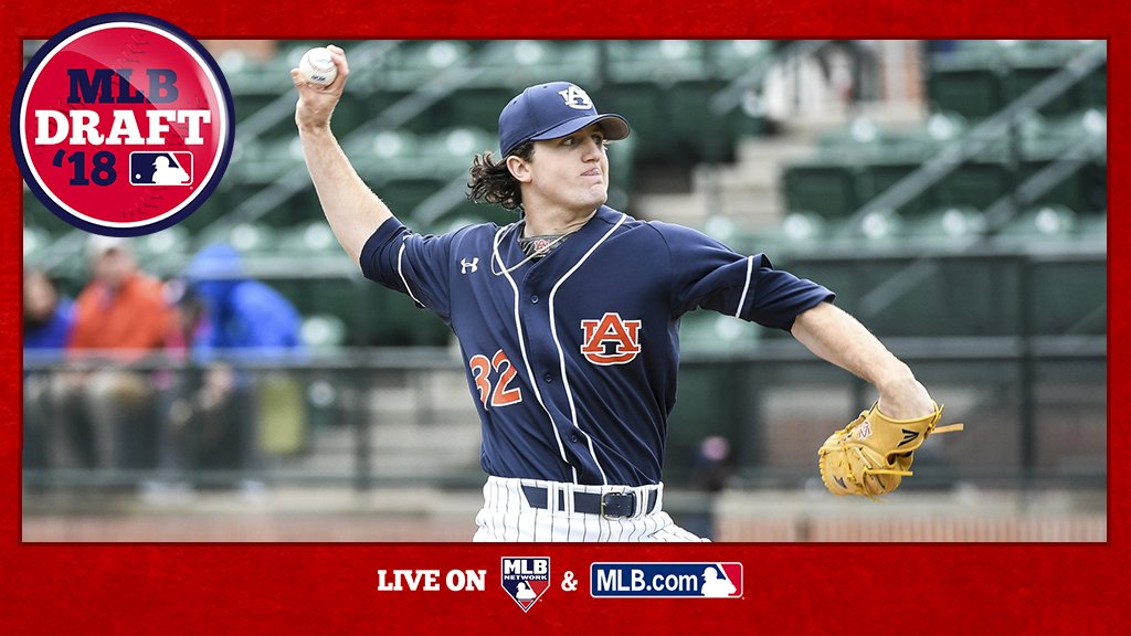 With the 1st pick of the 2018 #MLBDraft, the @Tigers select @AuburnBaseball RHP Casey Mize: https://t.co/I4XB50yP67 https://t.co/qhtjD5gwNj