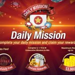 Image for the Tweet beginning: Daily Mission is absolutely free
