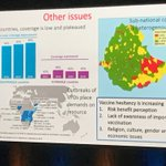 Vaccine hesitancy a global problem and having an impact on all countries, including low resource countries #NIC2018