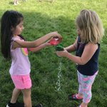 Yay for lots of sunshine on a Field Day with water games... weather was perfect, games were super, and friends were having a fabulous time! #swd123