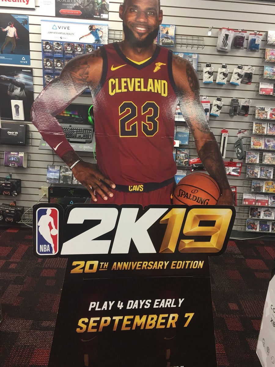 If youre a NBA fan and want to win a FREE copy of NBA 2K19. Giving away 3 RT and Follow me right now to qualify!