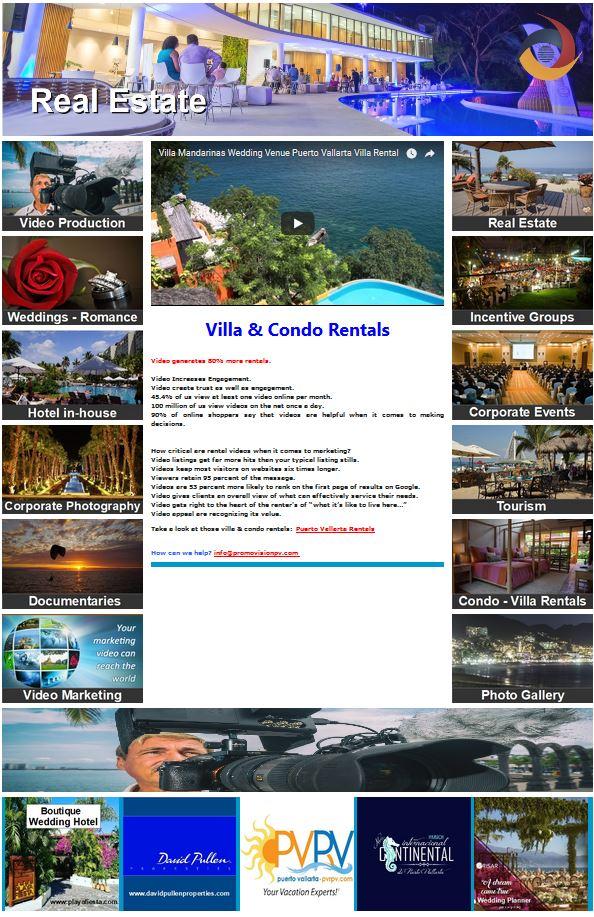 Villa & Condo Rentals   https://www.promovisionpv.com/?p=10 #video #Videomarketing #turismo #agenciasdeviajes #hoteles #PuertoVallarta #RivieraNayarit #PuntaMita #Sayulita #NuevoVallarta #SanPancho #Jalisco #Nayarit #Mexico #fotografia