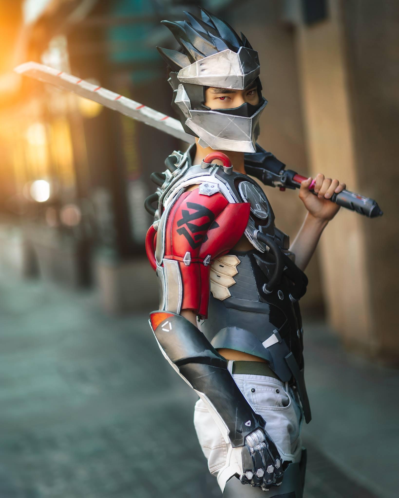 ' 戦いは終わらん.'  ��: Brett Bauer Photography  #Overwatch #Genji #Shimada #Blackwatch #cosplay https://t.co/4GF28qmmsG